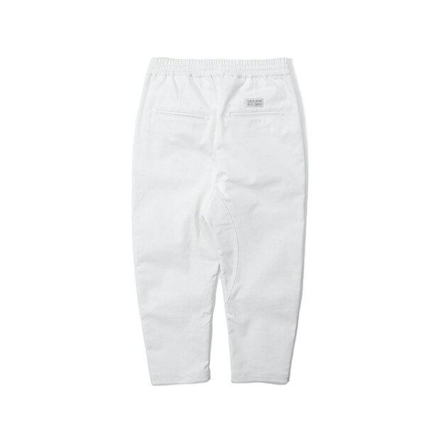 【EST】PUBLISH SLASH 綁帶 休閒 七分褲 白 [PL-5410-001] G0503 1