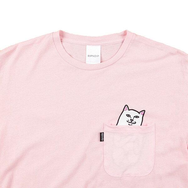 【EST】RIPNDIP LORD NERMAL 中指貓 口袋 短TEE 粉紅 [RD-0002-066] G0910 2