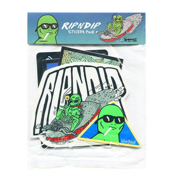 【EST】RIPNDIP SUMMER STICKER PACK 貼紙組合包 [RD-0004-XXX] G0910 0