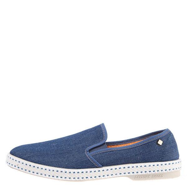 【EST】RIVIERAS 10度° 1053 丹寧 牛仔 懶人鞋 藍 [RV-1053-085] F0330 0