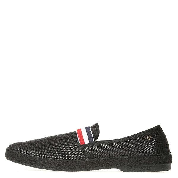 【EST】RIVIERAS 10度° 1119 法國 國旗 懶人鞋 黑 [RV-1119-002] G0428