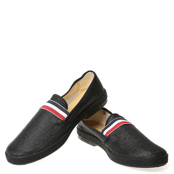 【EST】RIVIERAS 10度° 1119 法國 國旗 懶人鞋 黑 [RV-1119-002] G0428 2