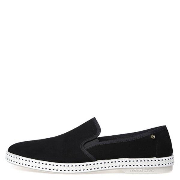 【EST】RIVIERAS 10度° 1141 麂皮 懶人鞋 黑 [RV-1141-002] F0330 0