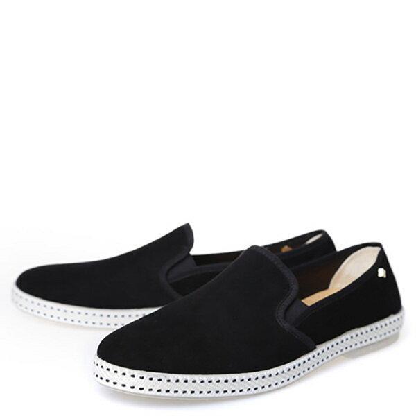 【EST】RIVIERAS 10度° 1141 麂皮 懶人鞋 黑 [RV-1141-002] F0330 1