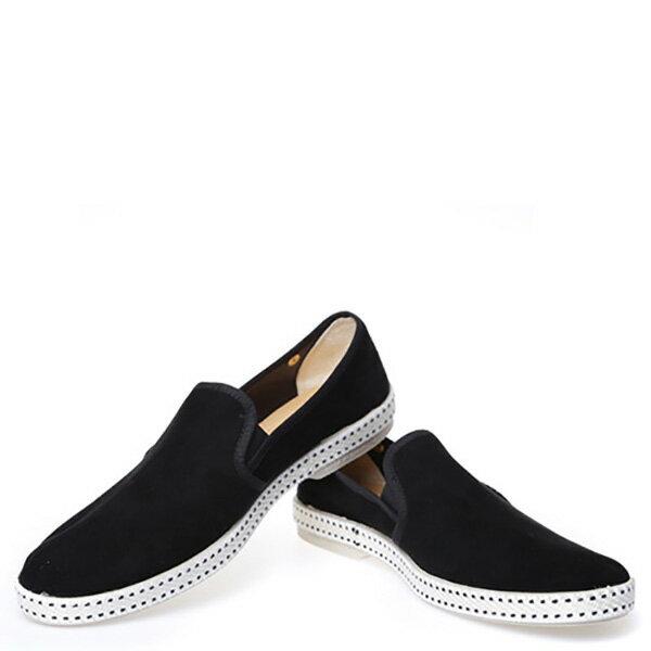 【EST】RIVIERAS 10度° 1141 麂皮 懶人鞋 黑 [RV-1141-002] F0330 2