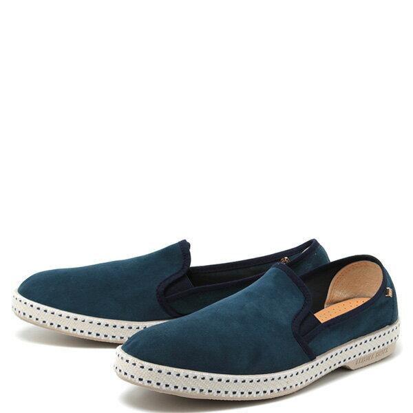 【EST】RIVIERAS 10度° 1144 麂皮 懶人鞋 海軍藍 [RV-1144-086] F0330 1