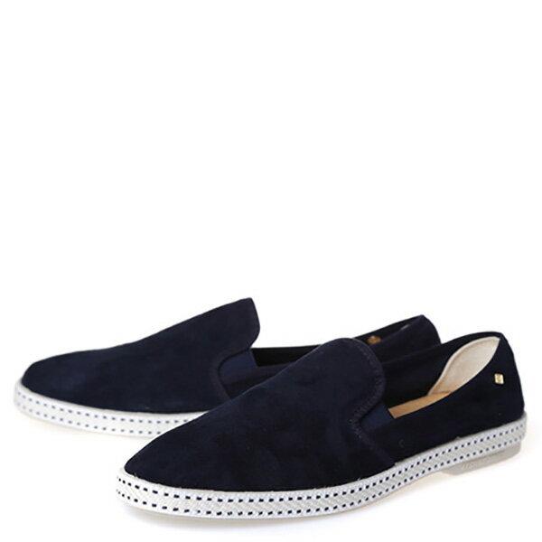 【EST】RIVIERAS 10度° 1154 麂皮 懶人鞋 藍 [RV-1154-086] F0330 1