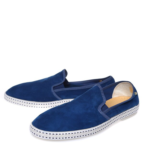 【EST】RIVIERAS 10度° 1156 麂皮 懶人鞋 藍 [RV-1156-086] F0422 1