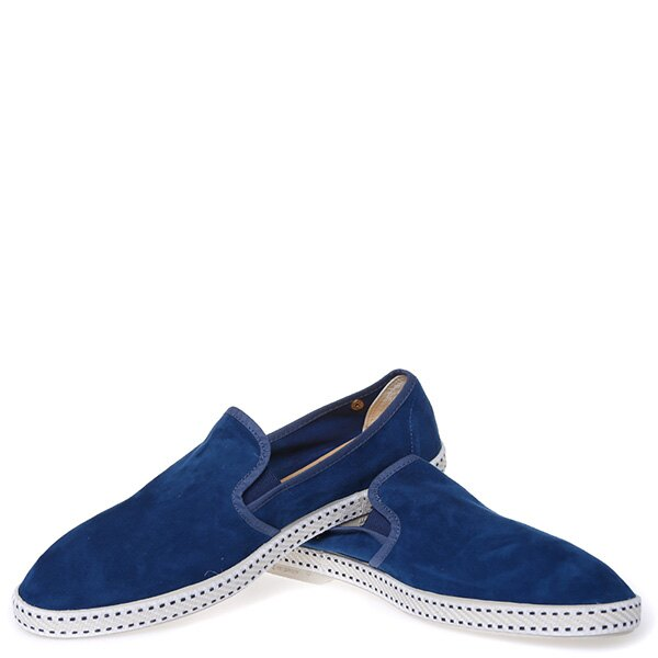 【EST】RIVIERAS 10度° 1156 麂皮 懶人鞋 藍 [RV-1156-086] F0422 2