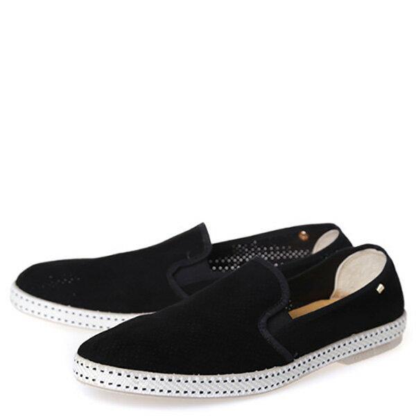 【EST】RIVIERAS 30度° 3021 洞洞 懶人鞋 黑 [RV-3021-002] F0330 1