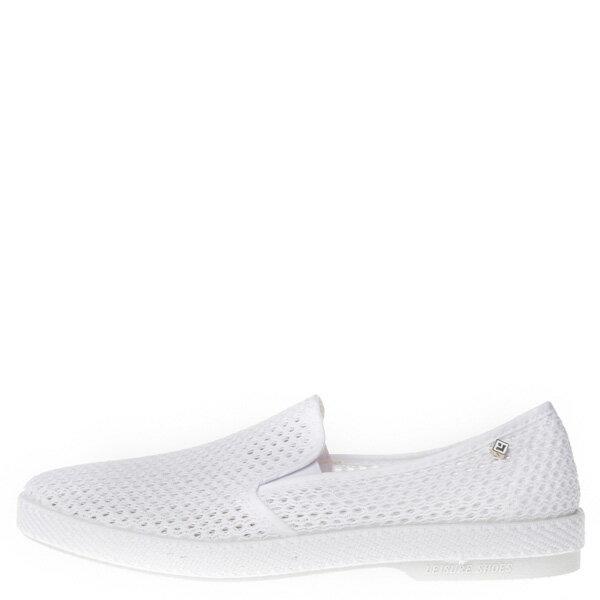 【EST】RIVIERAS 30度° 3200 洞洞 懶人鞋 白 [RV-3200-001] F0406 0