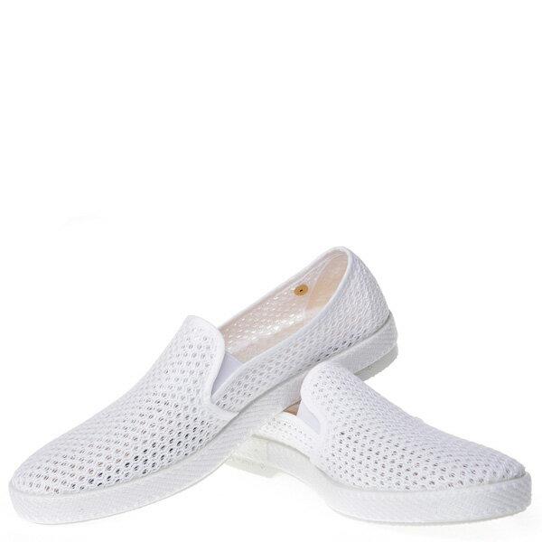 【EST】RIVIERAS 30度° 3200 洞洞 懶人鞋 白 [RV-3200-001] F0406 2