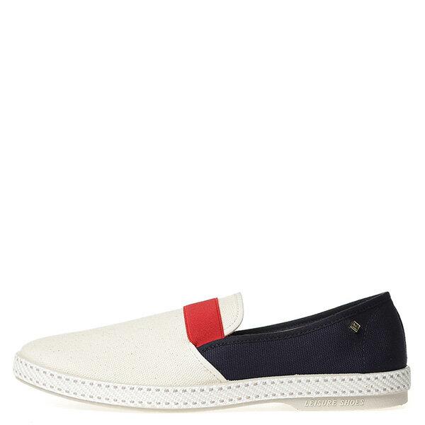 【EST】RIVIERAS 10度° 9170 拚色 懶人鞋 白紅藍 [RV-9170-XXX] G0428 0