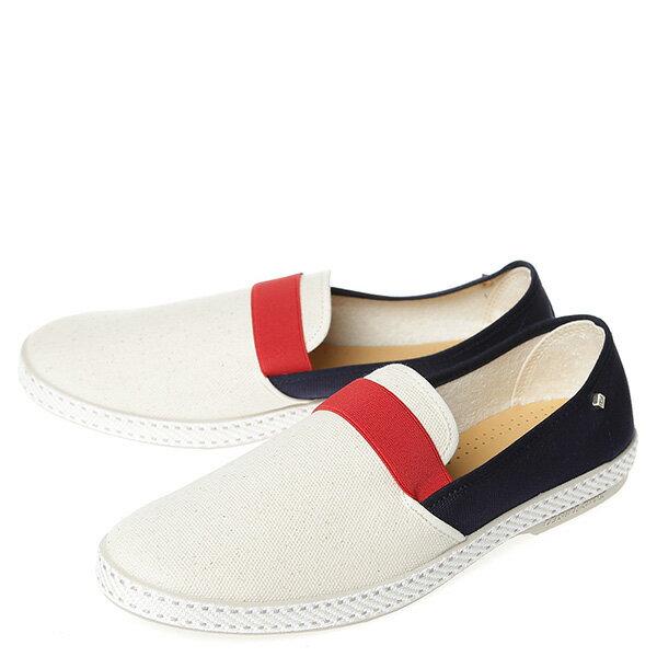 【EST】RIVIERAS 10度° 9170 拚色 懶人鞋 白紅藍 [RV-9170-XXX] G0428 1