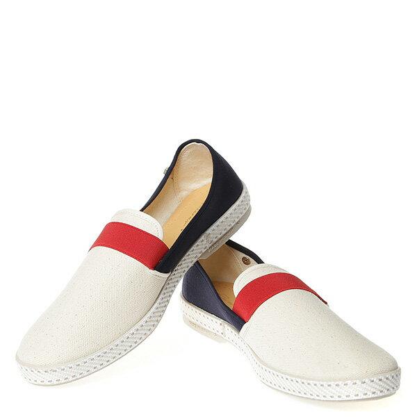 【EST】RIVIERAS 10度° 9170 拚色 懶人鞋 白紅藍 [RV-9170-XXX] G0428 2