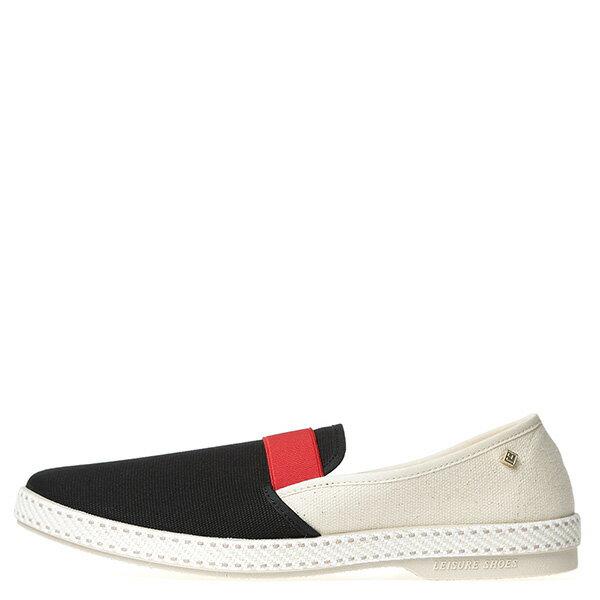 【EST】RIVIERAS 10度° 9171 拚色 懶人鞋 白紅黑 [RV-9171-XXX] G0428 0