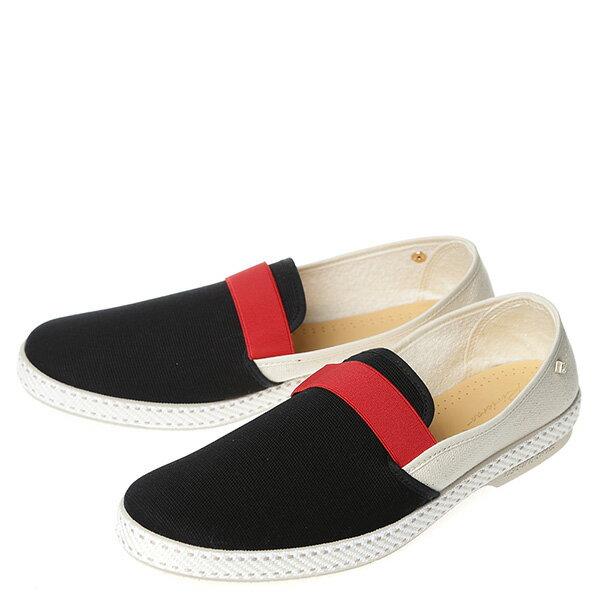 【EST】RIVIERAS 10度° 9171 拚色 懶人鞋 白紅黑 [RV-9171-XXX] G0428 1