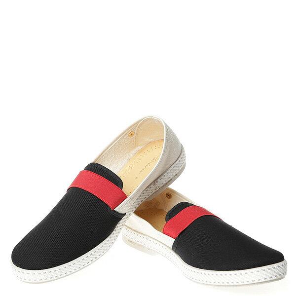 【EST】RIVIERAS 10度° 9171 拚色 懶人鞋 白紅黑 [RV-9171-XXX] G0428 2