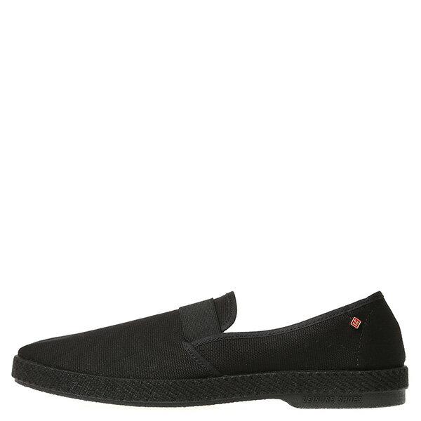 【EST】RIVIERAS 10度° 9181 帆布 懶人鞋 黑 [RV-9181-002] G0428 0