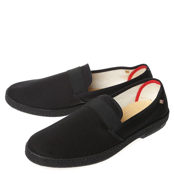 【EST】RIVIERAS 10度° 9181 帆布 懶人鞋 黑 [RV-9181-002] G0428 1