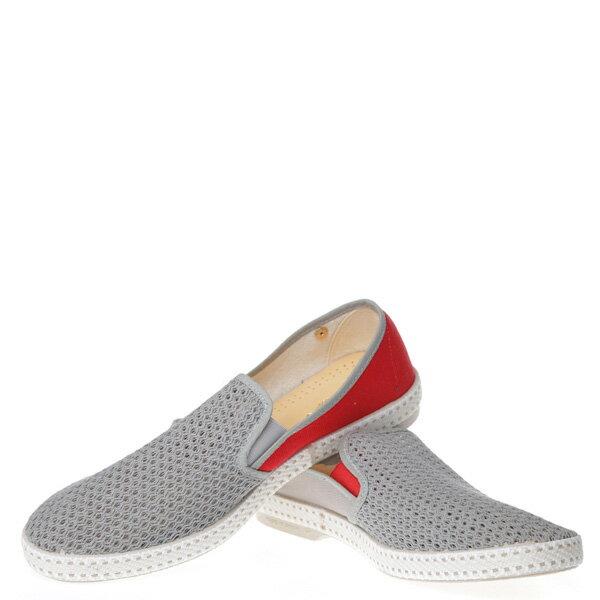 【EST】Rivieras 20度° 9206 半洞洞 拼接 懶人鞋 灰紅 [RV-9206-007] F0406 2