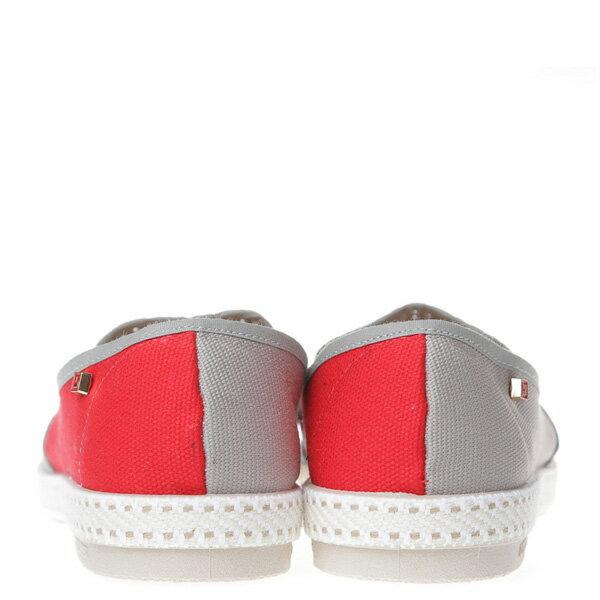 【EST】Rivieras 20度° 9206 半洞洞 拼接 懶人鞋 灰紅 [RV-9206-007] F0406 3