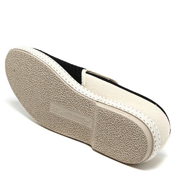 【EST】Rivieras 20度° 9211 半洞洞 拼接 懶人鞋 黑白 [RV-9211-002] F0330 4