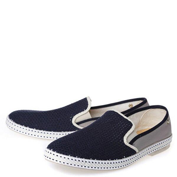 【EST】RIVIERAS 20度° 9212 半洞洞 拼接 懶人鞋 深藍灰 [RV-9212-086] F0330 1