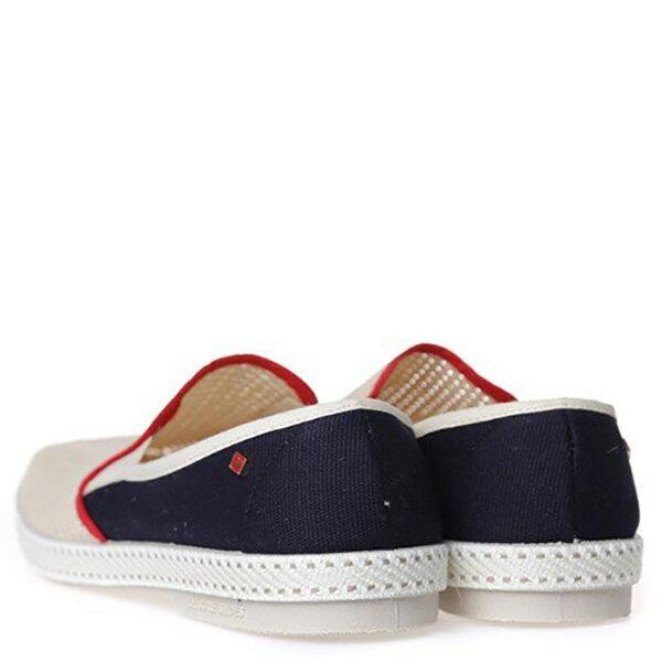 【EST】Rivieras 20度° 9225 半洞洞 拼接 懶人鞋 米混藍 [RV-9225-723] F0330 3