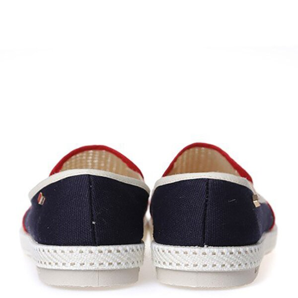 【EST】Rivieras 20度° 9225 半洞洞 拼接 懶人鞋 米混藍 [RV-9225-723] F0330 4