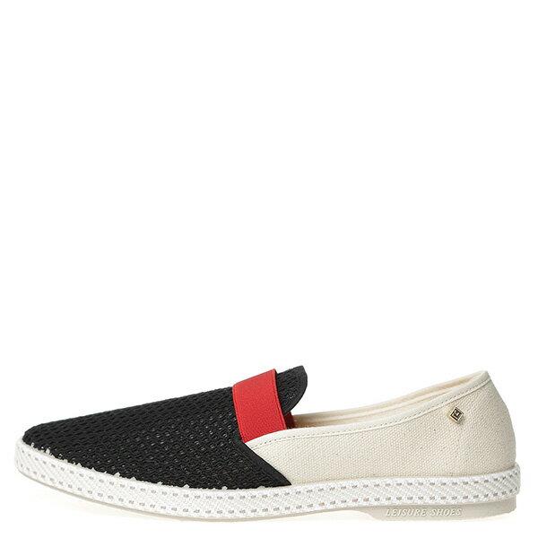 【EST】Rivieras 20度° 9271 半洞洞 拚色 懶人鞋 白紅黑 [RV-9271-XXX] G0428 0