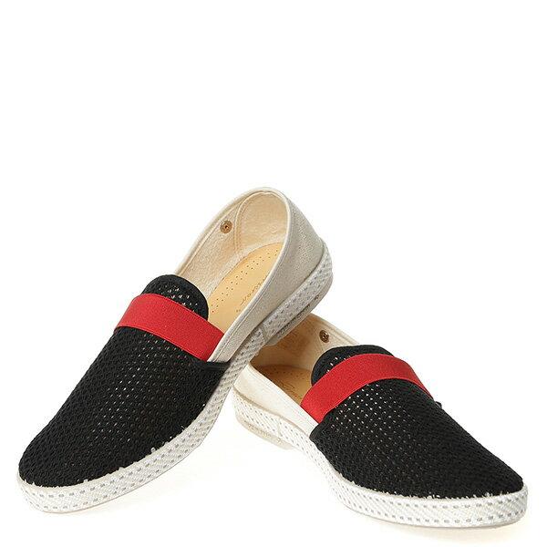 【EST】Rivieras 20度° 9271 半洞洞 拚色 懶人鞋 白紅黑 [RV-9271-XXX] G0428 2