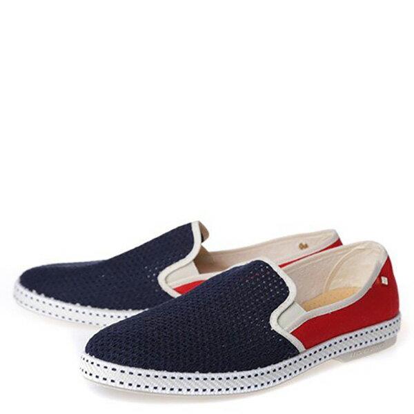 【EST】RIVIERAS 20度° 9999 半洞洞 拼接 懶人鞋 藍紅 [RV-9999-169] F0330 1
