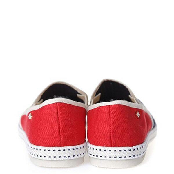 【EST】RIVIERAS 20度° 9999 半洞洞 拼接 懶人鞋 藍紅 [RV-9999-169] F0330 4