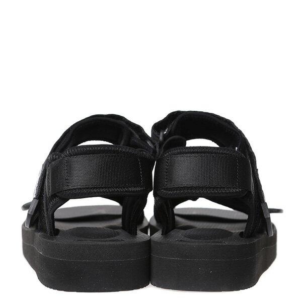 【EST】SUICOKE KISEE-V OG-044V 日本 復古 厚底 魔鬼氈 織帶 涼鞋 黑 [SK-044V-002] G0512 3