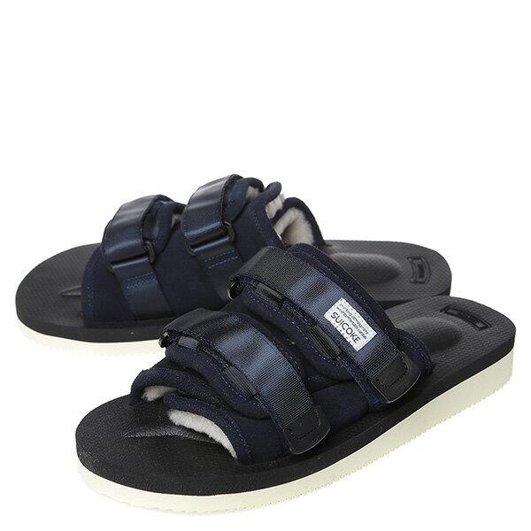 【EST】SUICOKE MOTO-VM OG-056VM 日本 復古 厚底 魔鬼氈 絨毛 涼鞋 深藍 [SK-56VM-086] G0512 1