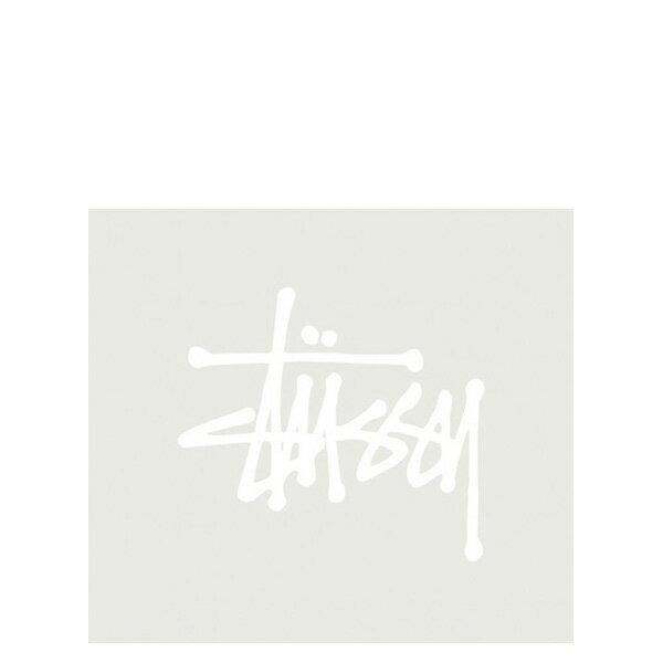 【EST】STUSSY 137002 REGULAR STOCK 貼紙 白字 小 [ST-5275-001] G0428 0