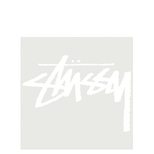 【EST】STUSSY 137143 ORIGINAL STOCK 貼紙 白字 大 [ST-5276-001] G0428 - 限時優惠好康折扣