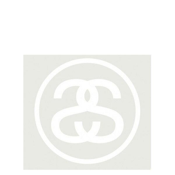 【EST】STUSSY 137371 SS LINK 貼紙 白字 大 [ST-5278-001] G0428 0