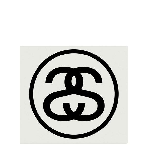 【EST】STUSSY 137371 SS LINK 貼紙 黑字 大 [ST-5278-002] G0428 0