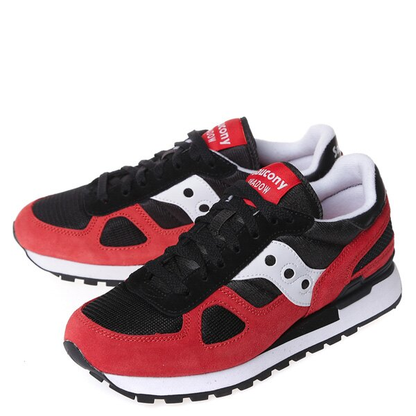 【EST】SAUCONY SHADOW ORIGINAL S21086-10 復古 慢跑鞋 男鞋 黑紅 [SY-2108-610] G0107 1