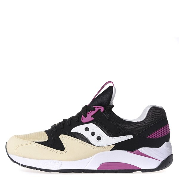【EST】SAUCONY GRID 9000 S70077-43 復古 慢跑鞋 男鞋 黑乳白 [SY-7007-743] G0107 0