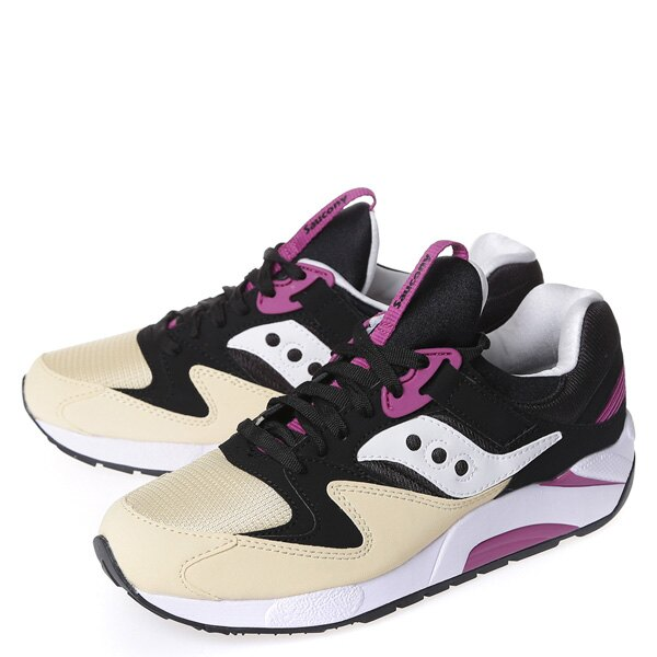 【EST】SAUCONY GRID 9000 S70077-43 復古 慢跑鞋 男鞋 黑乳白 [SY-7007-743] G0107 1