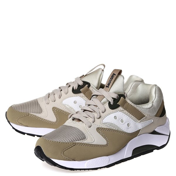 【EST】Saucony Grid 9000 S70077-46 復古 慢跑鞋 男鞋 土灰 [SY-7007-746] G0311 1