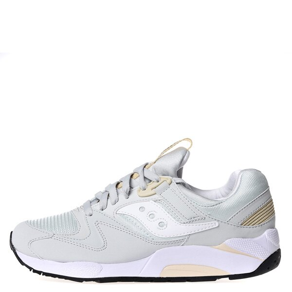 【EST】SAUCONY GRID 9000 S70077-47 復古 慢跑鞋 男鞋 白灰 [SY-7007-747] G0311 0