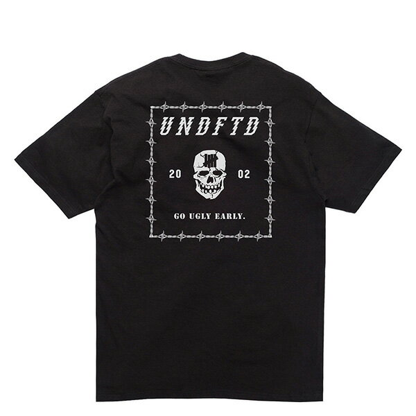 【EST】UNDEFEATED 5900732 GO UGLY EARLY 骷髏頭 短TEE 黑 [UF-5206-002] G0428 1