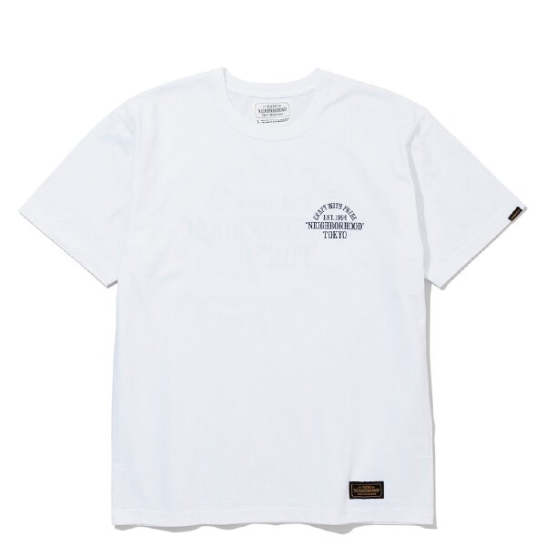 【EST O】NEIGHBORHOOD CWP . TYO / C-TEE . SS 短TEE 白 G0920 0