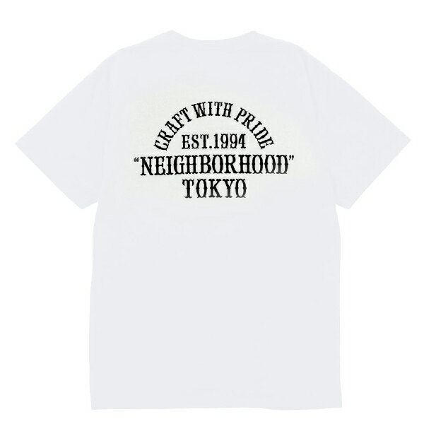 【EST O】NEIGHBORHOOD CWP . TYO / C-TEE . SS 短TEE 白 G0920 1