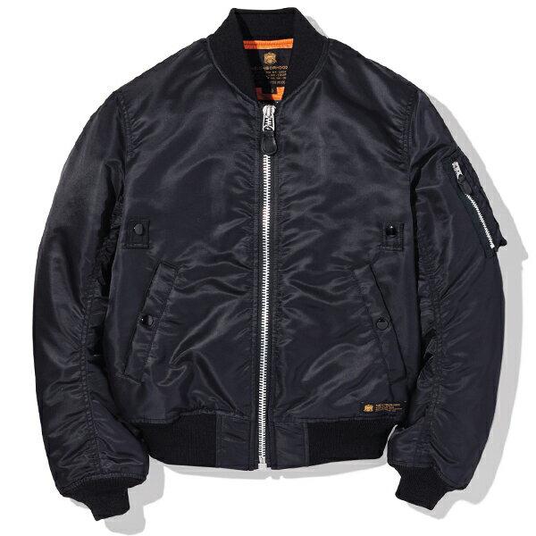 【EST O】NEIGHBORHOOD MA-1 / N-JKT 外套 黑 G0920 0