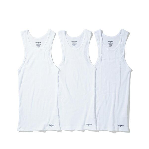 【EST O】NEIGHBORHOOD CLASSIC 背心 (3件裝) 白 G0920 1